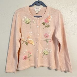Appleseeds Limited Edition Embroidered Cardigan